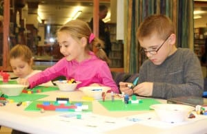 Library Launches Lego Builders Club