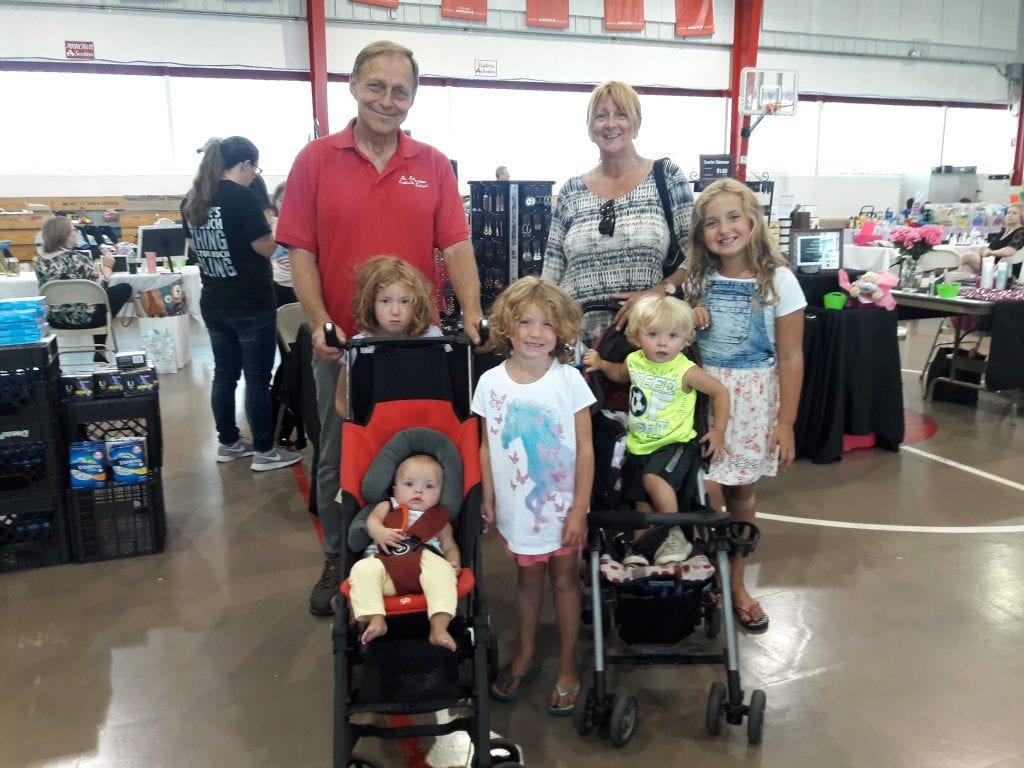 Benefit raises money for 5 children being raised by