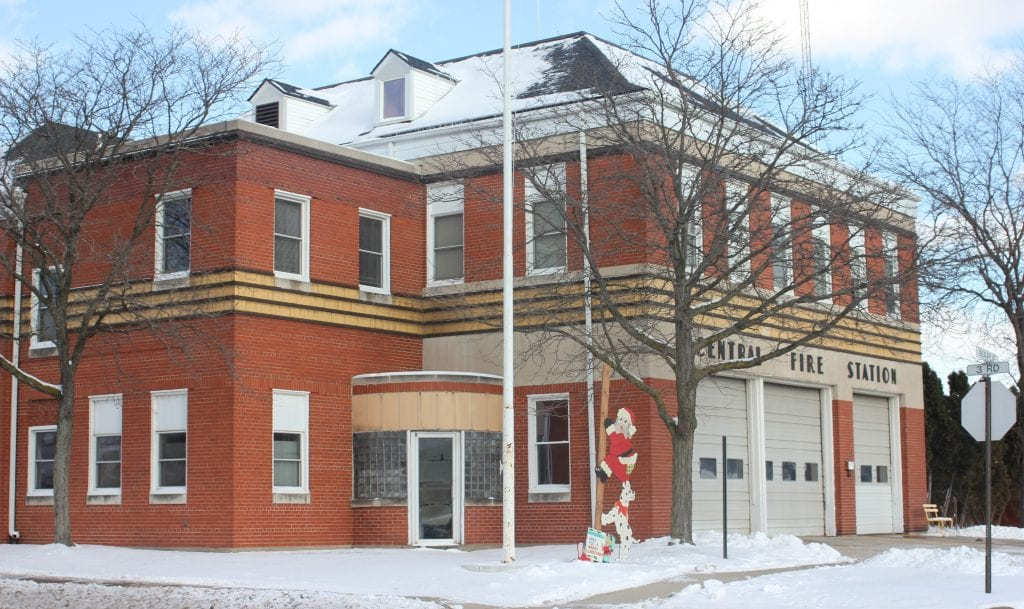 Photo by Sue Suchyta The City Council unanimously approved a $2.5 million interior and exterior renovation of Central Fire Station, 266 Maple, on Dec. 18 to fix the historic building and end stop-gap repairs and patches.