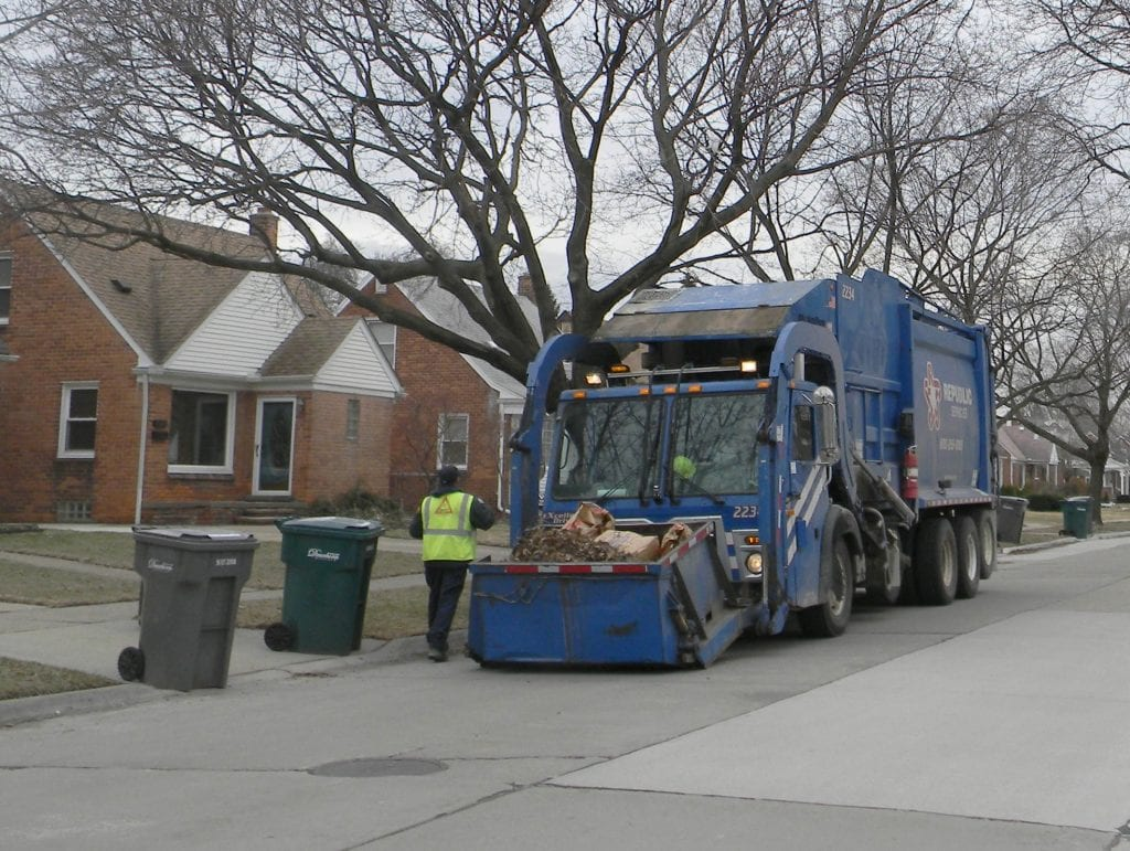 Photos courtesy of the city of Dearborn Public Service Days go into effect the week of March 5. Keeping parked vehicles off the roads from 8 a.m. to 4 p.m. on Public Service Days allows for efficient delivery of services, including street sweeping and trash pickup.