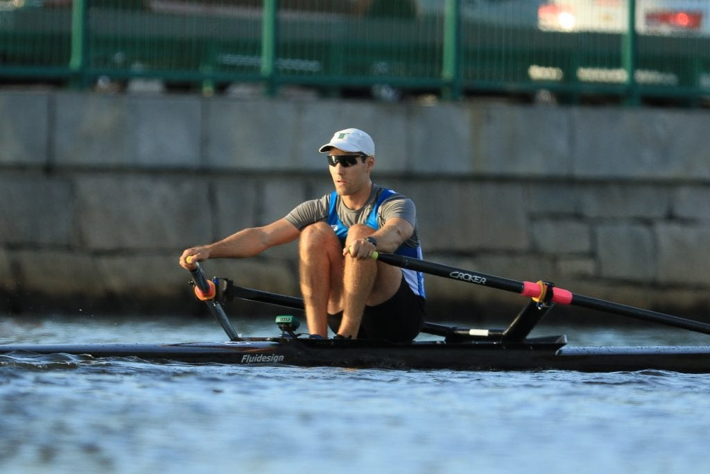 Photo by Igor Belakovskiy Dearborn Heights native Steven Pyzik is competing in the inaugural World Rowing Indoor Championships in Alexandria, Va., Feb. 17 and 18.