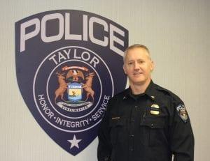Photo by Sue Suchyta Taylor Police Chief John Blair