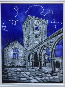 "Photo courtesy of Maureen Cassidy Keast ""Stars over the Ruins,"" by Theresa Moore of Taylor, will be among the many works available at the Art Ambience 31st anniversary exhibition May 4 to 6 at the Woodhaven Community Center. An opening reception is planned for 6 p.m. May 4 at the center, 23101 Hall Road. There is no charge for the reception or the show."