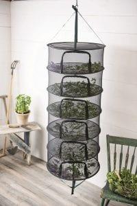Photo courtesy of Gardener's Supply Co. Drying is one of the easiest ways to preserve garden-fresh herbs.