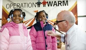 Photo courtesy of the city of Dearborn The Taylor Rotary Club is partnering with Operation Warm for the 10th annual Operation Warmth coat distribution program in the Taylor School District.