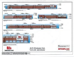 Site plan courtesy of the city of Taylor