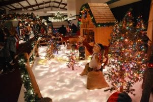 Photo courtesy of Fish & Loaves Community Food Pantry The Magic Forest is an indoor winter wonderland that features hundreds of animated characters, about two dozen different magical and heart-warming Christmas scenes and many beautiful light displays – plus Santa Claus and Mrs. Claus.