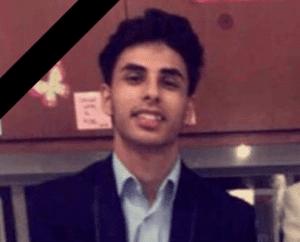 Photo courtesy of Facebook Edsel Ford High School senior Hasanain Alkhaleeli, 18, died following a vehicle crash Nov. 20 in Dearborn.