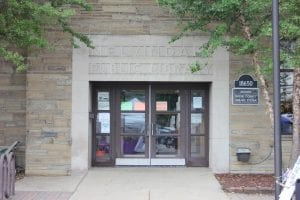 Photo by Sue Suchyta Melvindale's public library will get new doors and lighting, with money budgeted in the library general fund account, following city council approval at its Nov. 21 meeting.