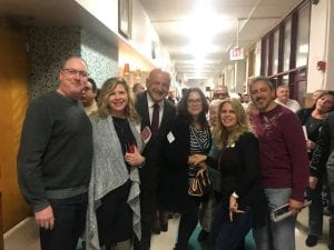 Photo courtesy of Nofila Haidar Facebook Salina School alumni reunite during the 100-year anniversary celebration of the school held Oct. 26 at the building built in 1918.