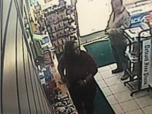 Photo courtesy of the Dearborn Police Department Dearborn police are a woman who stole an American Express card and used it for purchases in Dearborn, Dearborn Heights and Inkster. The woman is described as a black female in her 30s with long hair and wearing a red shirt and black pants.