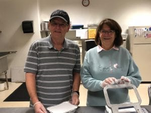 Photo courtesy of the city of Dearborn Dearborn 2018 Volunteers of the Year Robert (left) and Barbara Hayes have worked with the Dearborn Meals on Wheels program four days a week for four years.