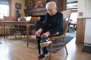 Norma Baker 86 yro had heart surgery at 80 and at the recommendation of her cardiologist becane a walking routine that has greatly improved her health and quality of life.  She is very fond of walking in Elizabeth Park, part of a wqlking program championed by Beaumont Trenton Healthy Community.
