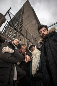 "Photo courtesy of the Arab American National Museum Palestinian group 47SOUL will perform at a dance party in The Annex in celebration of its latest release, ""Balfron Promise."" The group is on its first North American tour."