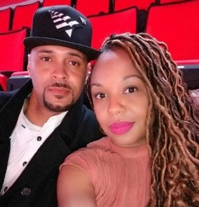 Photo from Facebook The late David Carter Sr. (left), 39, of Melvindale, and his girlfriend, Tamera Williams, for whom a warrant has been sought for his murder.