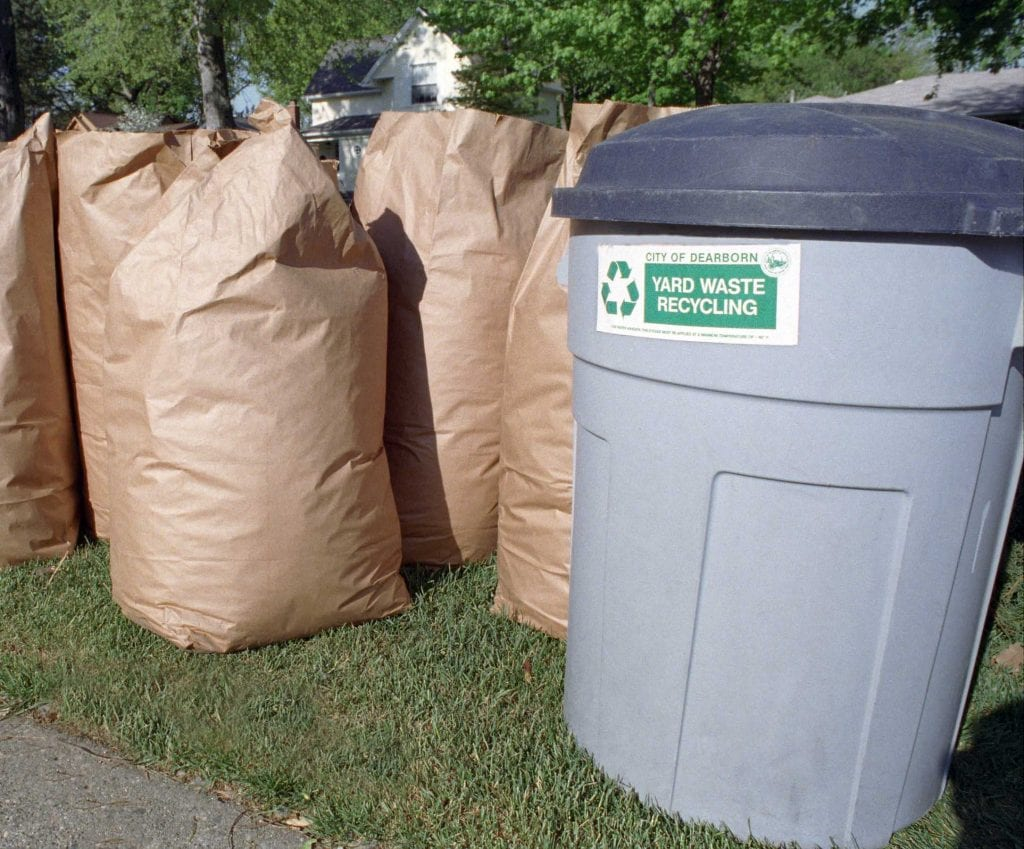 Photo courtesy of the city of Dearborn Dearborn's 2019 curbside yard waste program is set to kick off the week of March 11 to 15 and last through the week of Dec. 9 to 13.