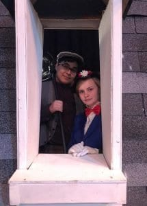 """Photos courtesy of Edsel Ford High School Edsel Ford High School presents the musical """"Mary Poppins"""" at 7 p.m. May 9 to 11 at the school auditorium, 20601 Rotunda, with Oscar Vasquez (left) as Bert and Nora Heaton as Mary Poppins in double-cast roles. Tickets are available at the door."""