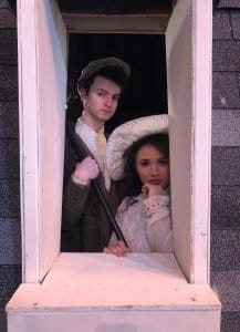"""Photos courtesy of Edsel Ford High School Edsel Ford High School presents the musical """"Mary Poppins"""" at 7 p.m. May 9 to 11 at the school auditorium, 20601 Rotunda, with Nathan Wall (left) as Bert and Maya Moreau as Mary Poppins in double-cast roles. Tickets are available at the door."""