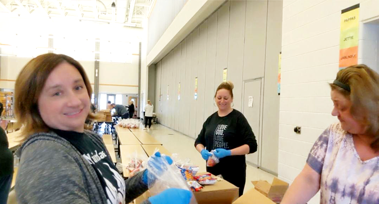 MEL-NAP, other districts supply grab-and-go meals for low-income students