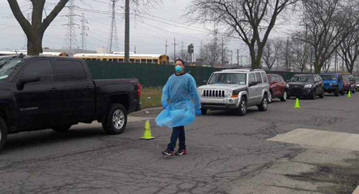 ACCESS, WSU provide coronavirus testing for health professionals, first responders