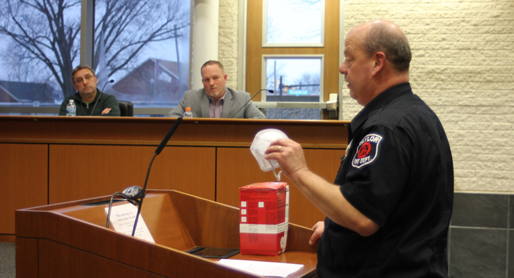 From protective equipment to screening procedures, fire chiefs prepare first responders