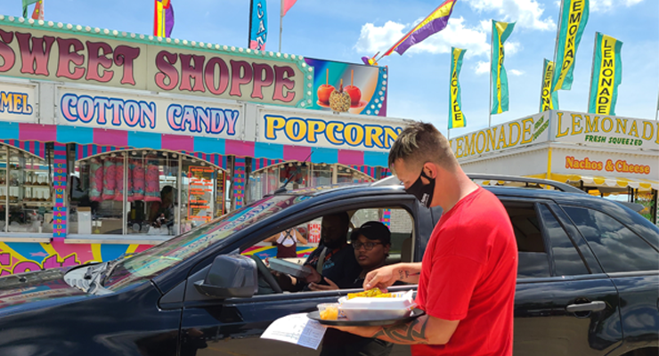 Exchange Club tastes success with drive-up Carnival Food Fest