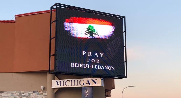 Communities rally to send aid for Lebanon in wake of explosion