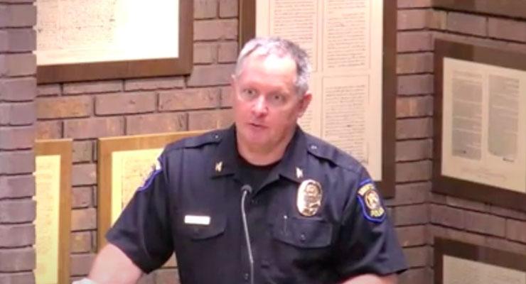 Todd Scheffler retires; Mike Oakley becomes new police chief