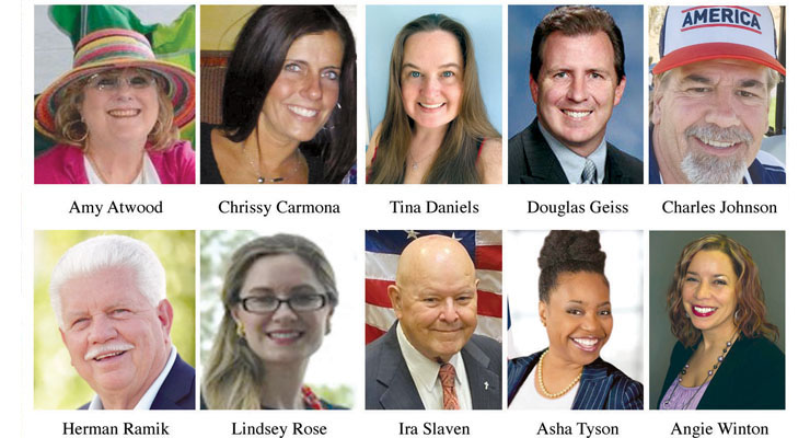 14 candidates vying for 7 seats on Taylor City Council